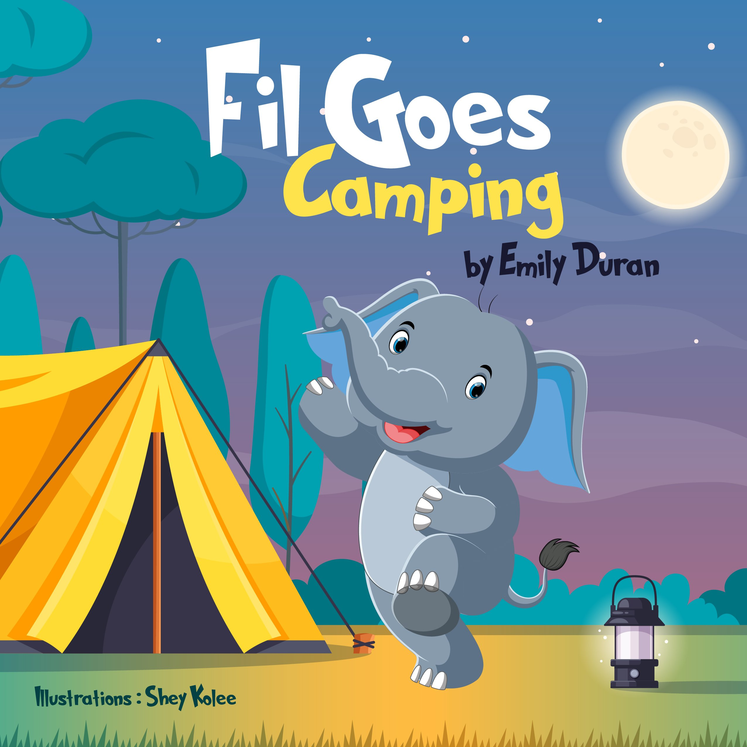 Fil Goes Camping
